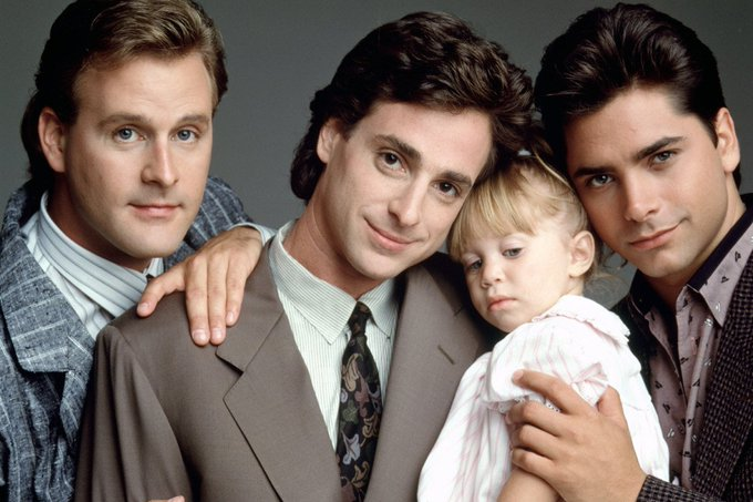 Happy Birthday to Bob Saget(middle) who turns 61 today!