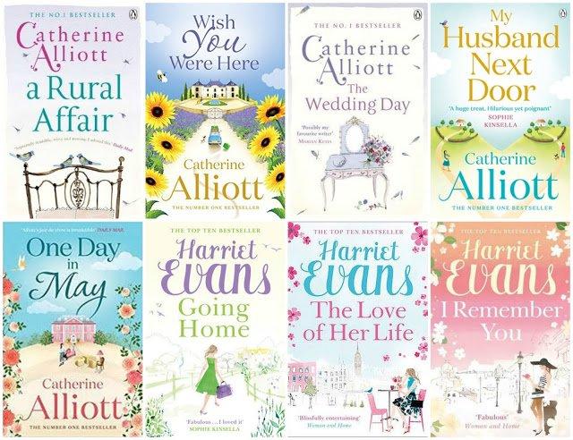 Catherine Alliott & Harriet Evans Book Set Giveaway
