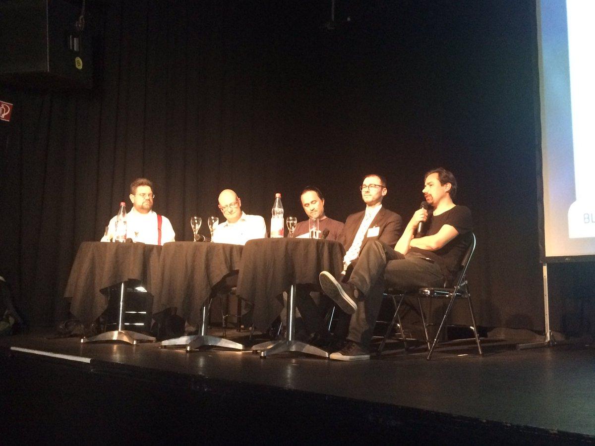 test Twitter Media - Mittagspause vorbei. Frisch gestärkt geht es weiter mit Panel 3: Chancen, Risiken & rechtl. Fragen #BcUc17 https://t.co/HnRiO0IqG7