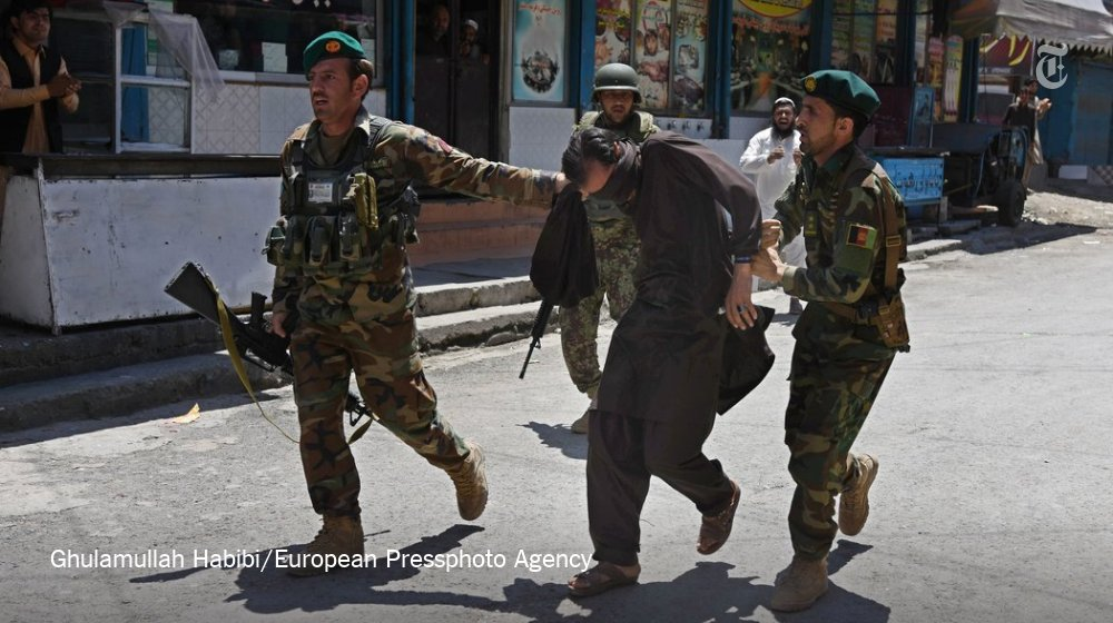 Suicide Bombers Storm TV Station in Afghanistan