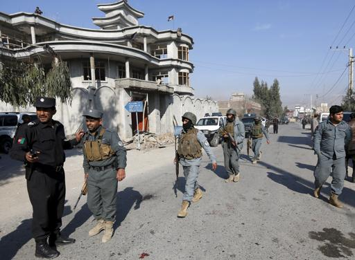 Suicide bombers storm Afghan state broadcaster