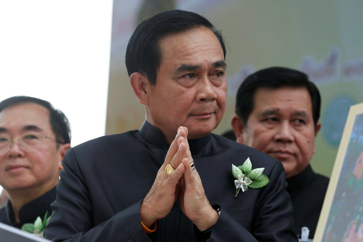 Thai junta mulling new cyber law giving authorities access to private computer systems