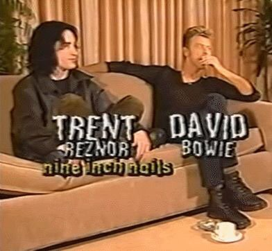 Dream Team... Happy birthday Trent Reznor!
