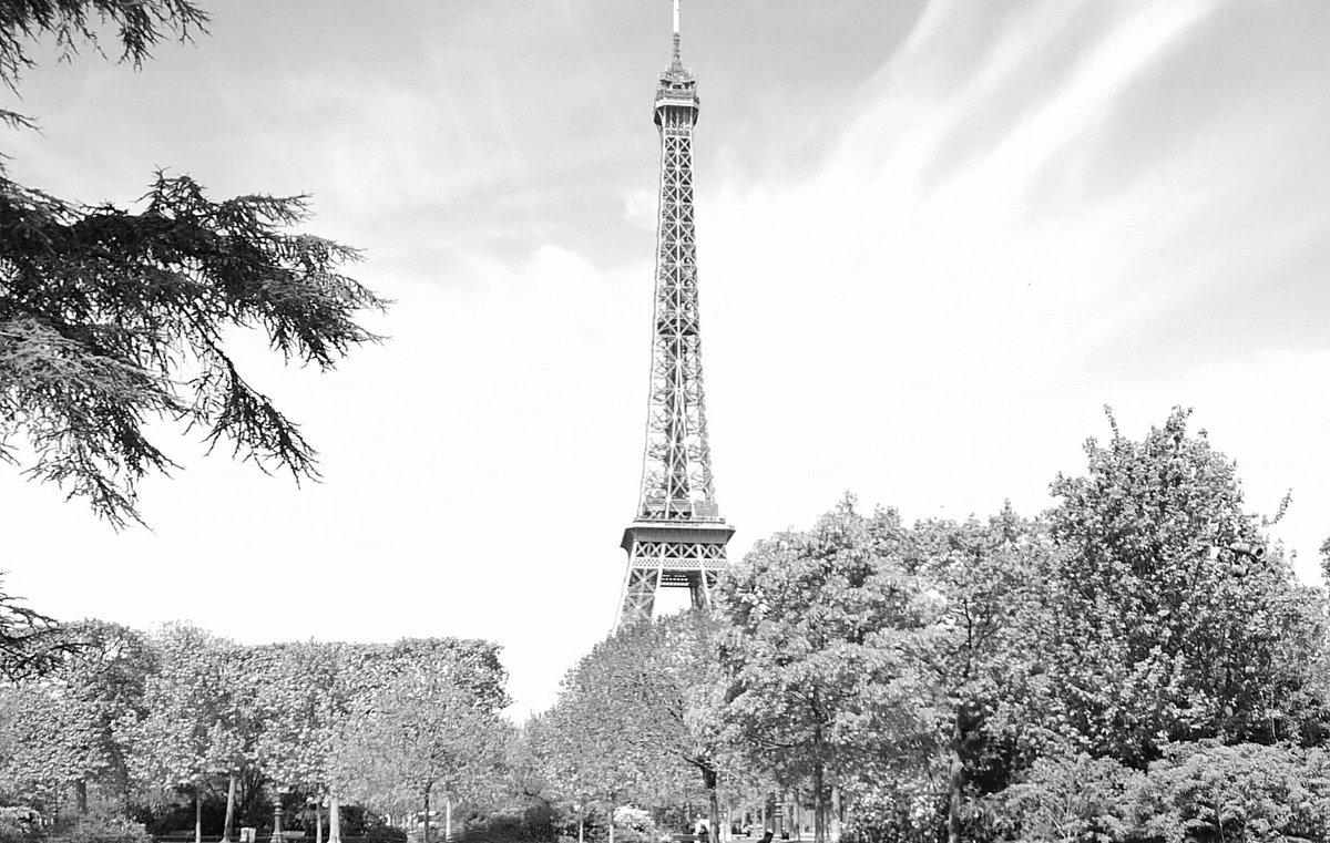 1 pic. 💞💕 Plein de gros bisous mes chéris ! Bonne journée ! 💕💞 #paris17 #PictureOfTheDay #blackandwhite