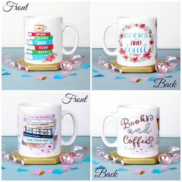 Drink Coffee and Read Books Mugs Giveaway