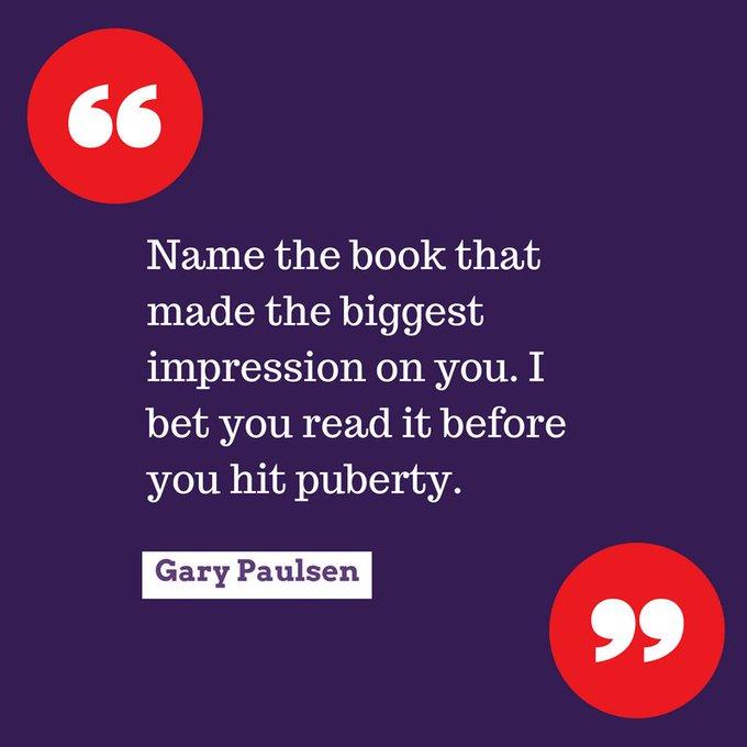 Happy birthday, Gary Paulsen!