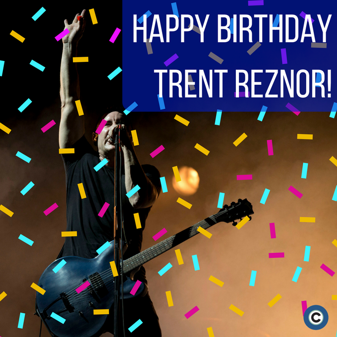 Happy Birthday, Trent Reznor! The singer of started working in music when he moved to Cleveland.
