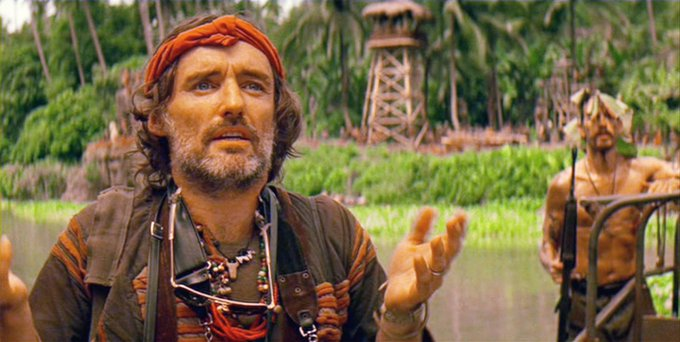 """The man is clear in his mind, but his soul is mad.\"" Happy Birthday, Dennis Hopper."