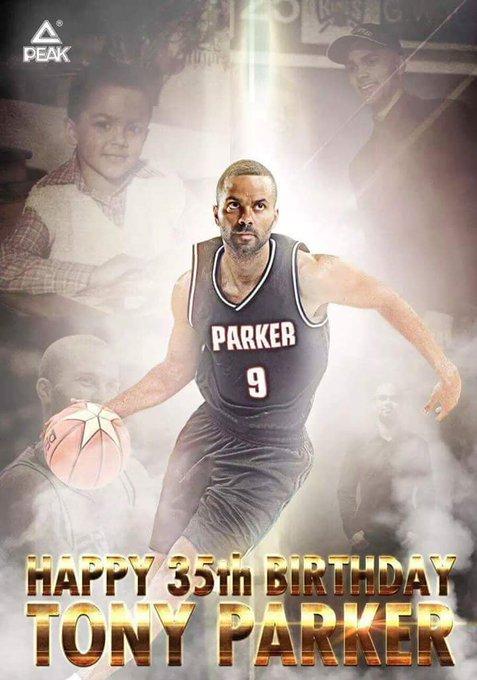 Happy Birthday Tony Parker!!.