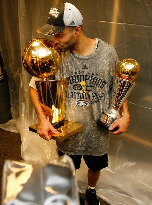 Happy Birthday Tony Parker. He turns 35 years old today.