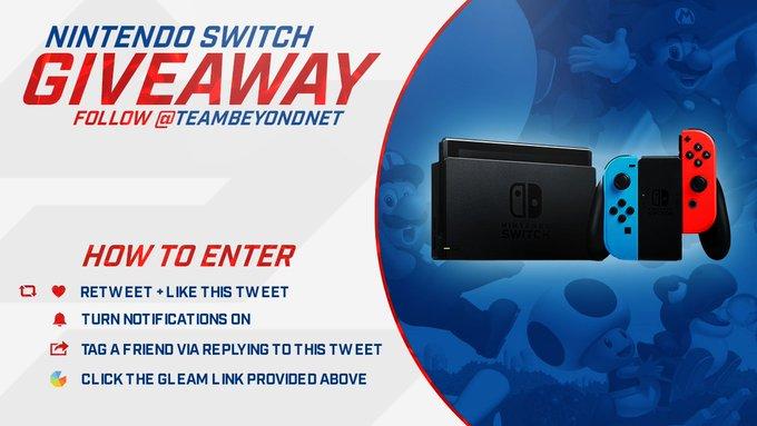 Beyond Nintendo Switch Giveaway!