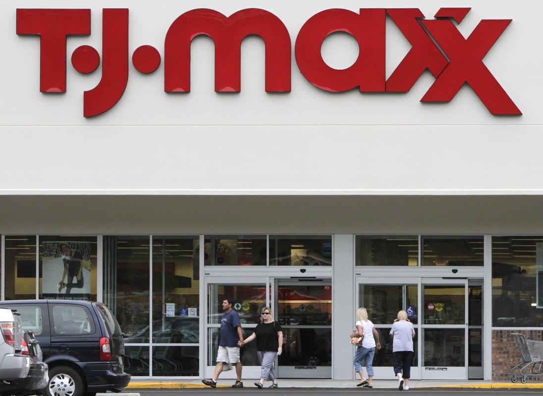 Profit, loss  for discount  retailer TJX