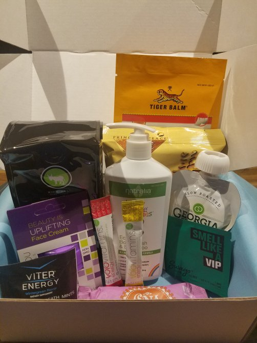 My DailyGoodieBox finally arrived! Check out what was in it! Review Freebies