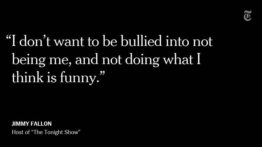 If Jimmy Fallon faces any crisis, it's an existential one. What does he want his show to be? https://t.co/JFVKYw9Wmm https://t.co/UbpKqpHOxR