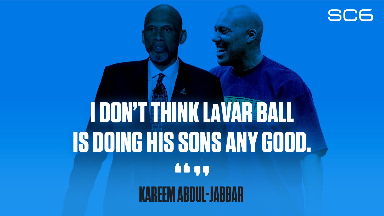 Kareem Abdul-Jabbar has some thoughts on LaVar Ball...  https://t.co/cFfX8BKjXW https://t.co/dGmsvnTYru