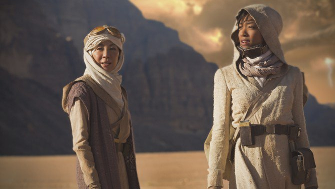 The first trailer for CBS All Access' StarTrekDiscovery is here: