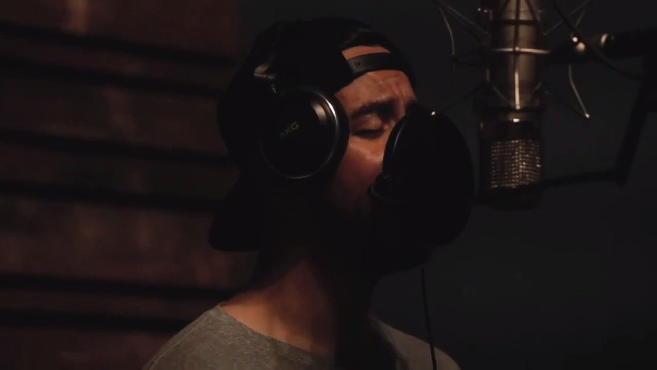 #InvisibleLP vocals. #OneMoreLight �� @mikeshinoda https://t.co/N0rNDcHoNi
