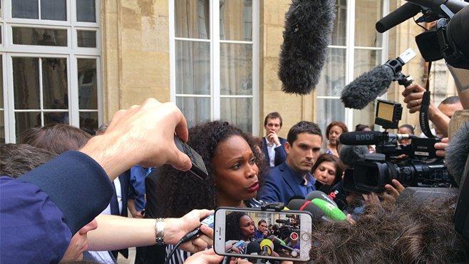 """Laura Flessel, ministre des Sports : """"Porter haut les couleurs de la France"""""""