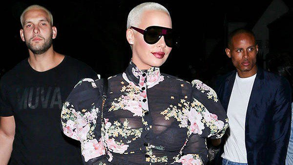 Amber Rose was the victim of a 4-hour home invasion while she slept: