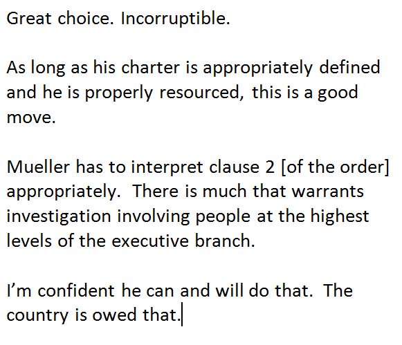 Ex Clinton Prosecutor Robert Mueller Can T Trump: Former Attorney General Eric Holder On Appointment Of