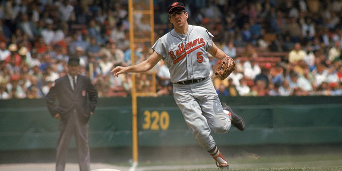 Happy 80th birthday, Brooks Robinson! REmessage to wish No. 5 the happiest of birthdays!