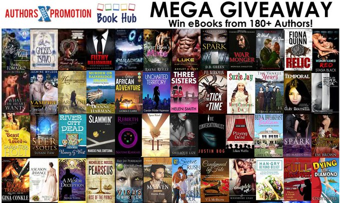 Mega giveaway – win up to 180 ebooks