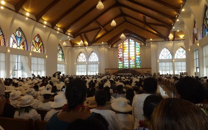 Samoa's Jubilee Church finally opens