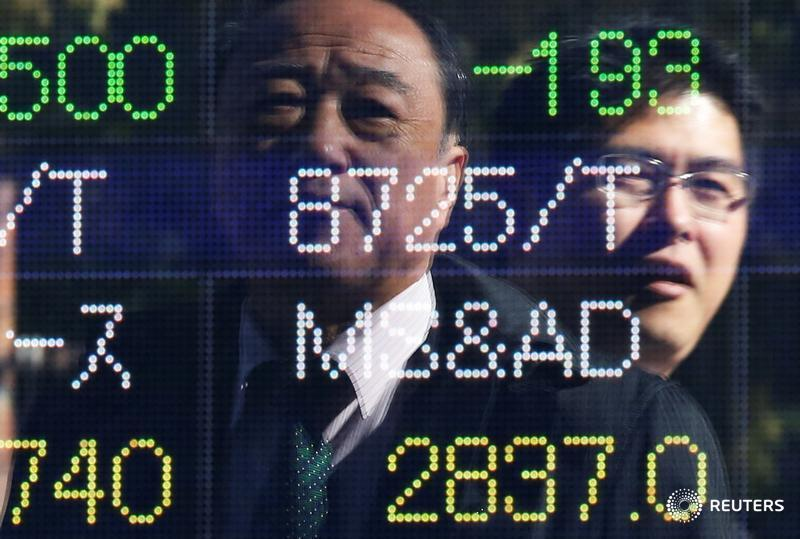 Asia falls as White House turmoil spoils risk sentiment, dollar bruised