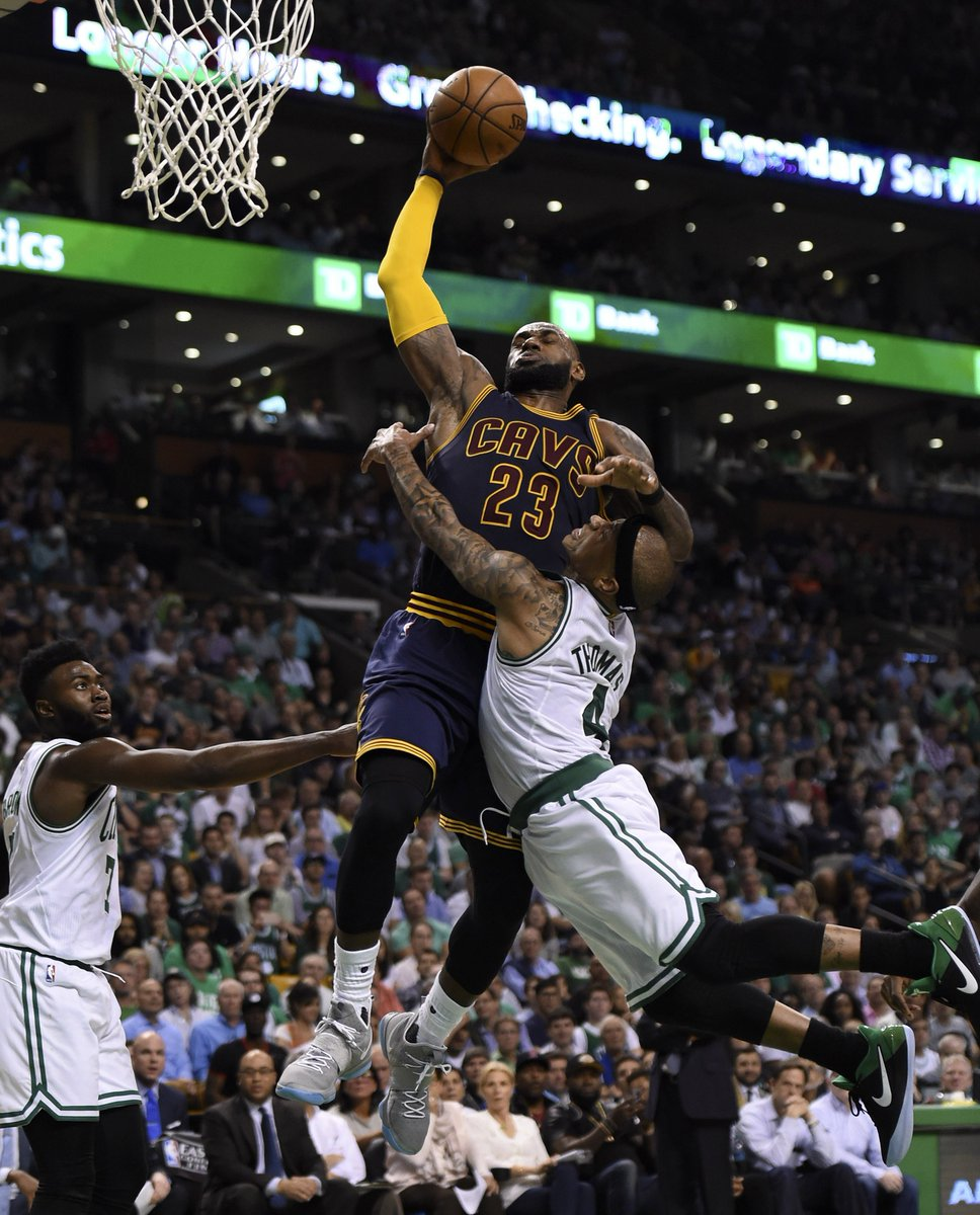 LeBron: 'I'm going to my seventh straight Finals.'  Isaiah: 'Take me with you!' https://t.co/piFprEZamy