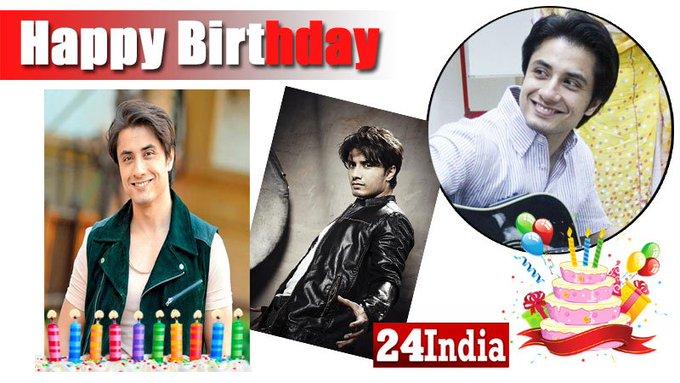 Happy Birthday to Ali Zafar! -