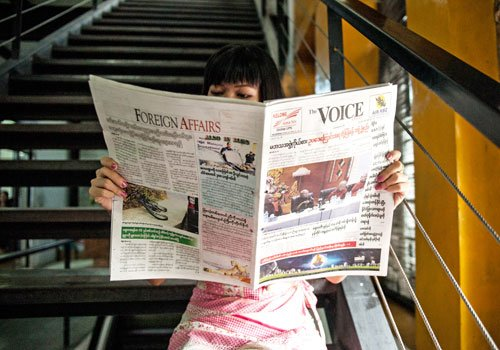 The Voice Daily chief editor, writer face defamation suit