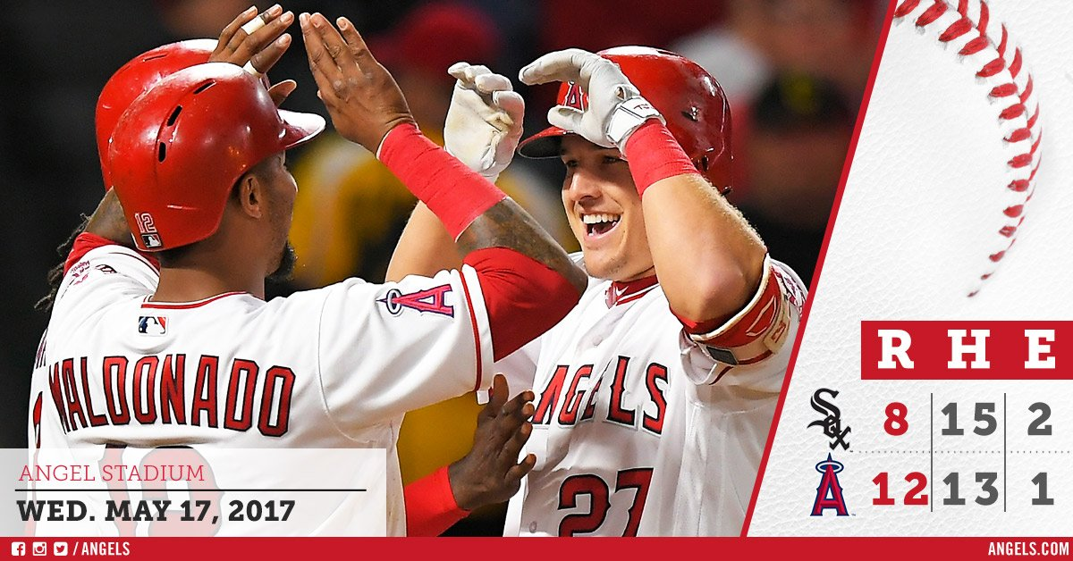 #HaloRecap: #Angels complete sweep of White Sox!  https://t.co/EhF7Pu34Ze https://t.co/lnf1R3GaQp