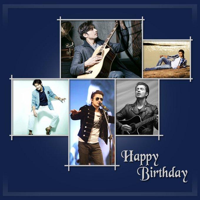 Here\s wishing Ali Zafar- the man of many talents a very Happy Birthday.