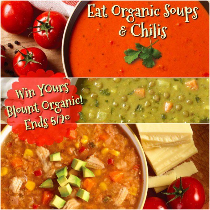 Blount Organic Soups & Chilis, 5 Count GA-1-US, CAN Ends 5/20