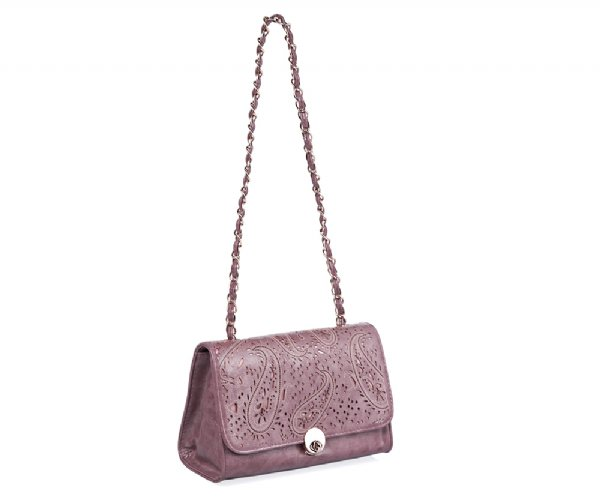 Blog Giveaway:  Win a Purple Floral Cutwork Handbag from the LR Boutique