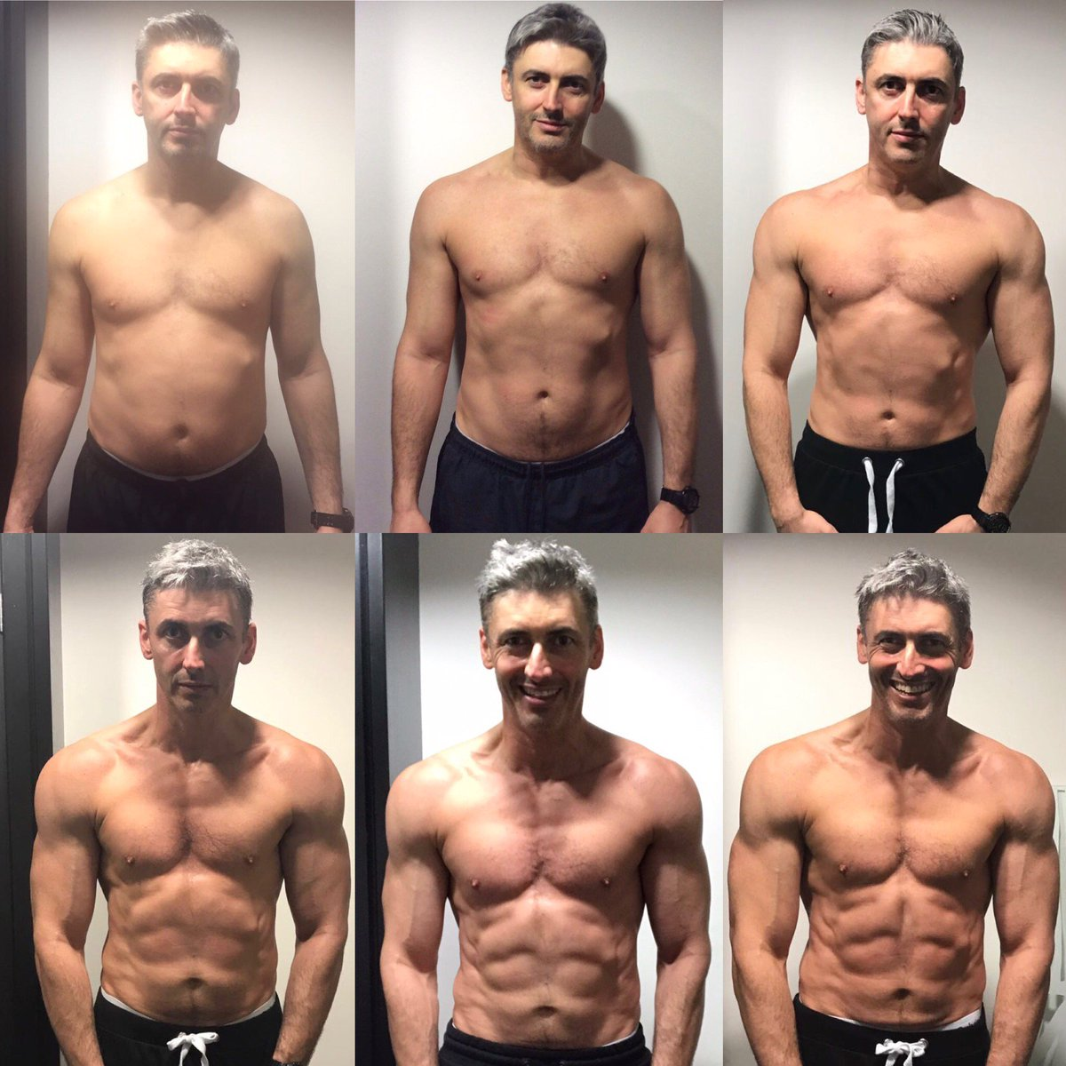 A Guy Has Halved His Body Fat In Just A Few Months He Looks Totally