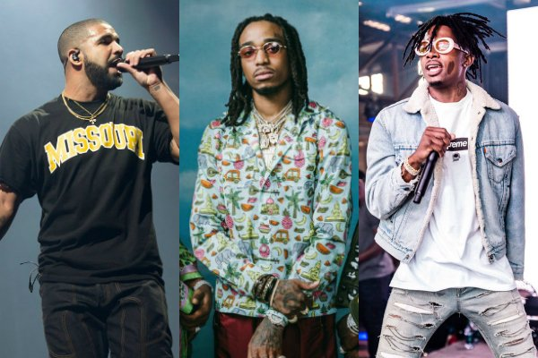 .@Drake Brings Out @Migos & @PlayboiCarti at Adult Swim's Upfront Party In NYC https://t.co/VjD7eMhw84 https://t.co/oNdnvWoL33