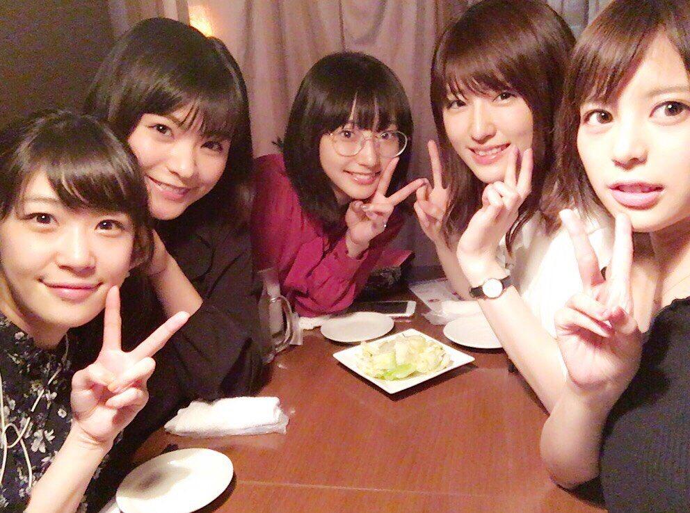 『咲-saki-』風越女子高校で女子会💕また集まれて嬉しい〜💕7/5には映画『咲-Saki-』DVD・Blu-ray発売