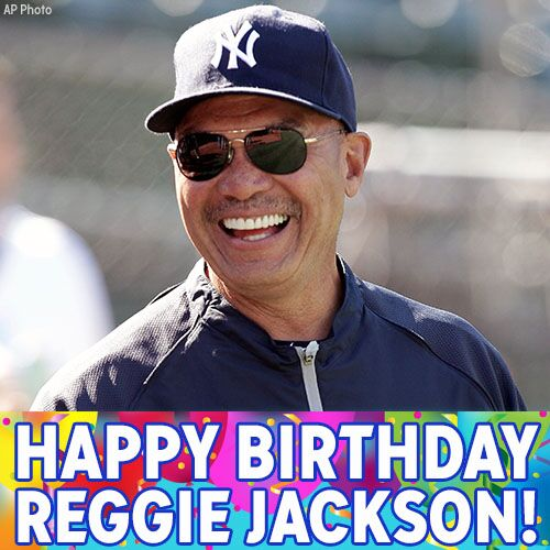 ABC7NY reports Happy Birthday to MrOctober, Reggie Jackson!