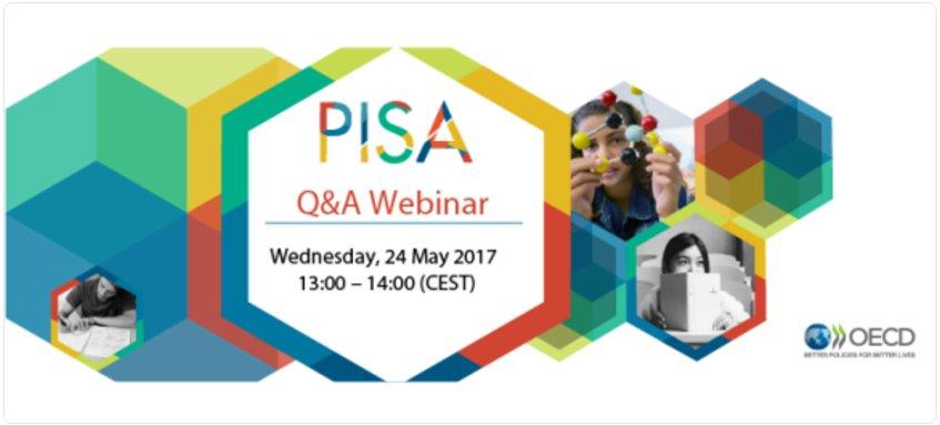 Data on students' #financial literacy is topic for #OECDPISA Q&A webinar w/@Schl... Data on students' #financial literacy is topic for #OECDPISA Q&A webinar w/@Schl… DAGE QnV0AAlJGs
