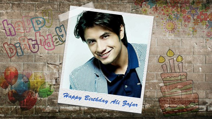 Here\s wishing the  singer-songwriter, model, actor and painter Ali Zafar a very HAPPY BIRTHDAY!