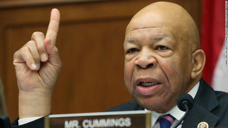 Democratic Rep. Elijah Cummings: Republicans would have already impeached Hillary Clinton