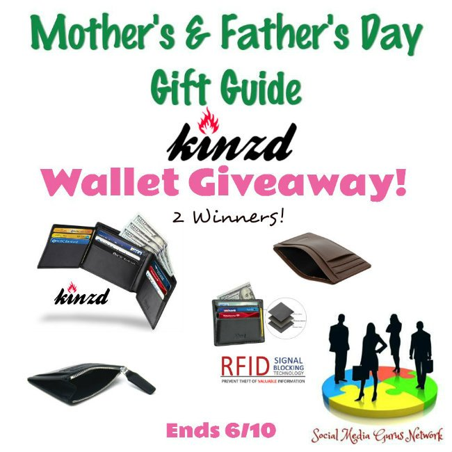 Kinzd Wallet Giveaway