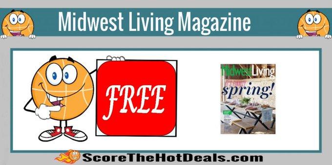 **FREE** Midwest Living Magazine Subscription!free freebies freebie freemagazines