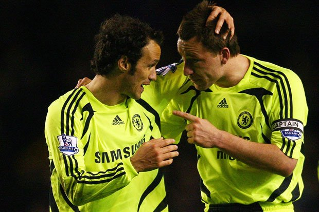 Happy Birthday Ricardo Carvalho!  What a partnership he had with JT back in the day!