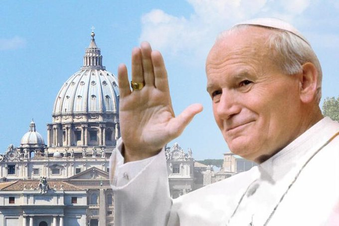 Happy Birthday Pope St. John Paul II, pray for us.