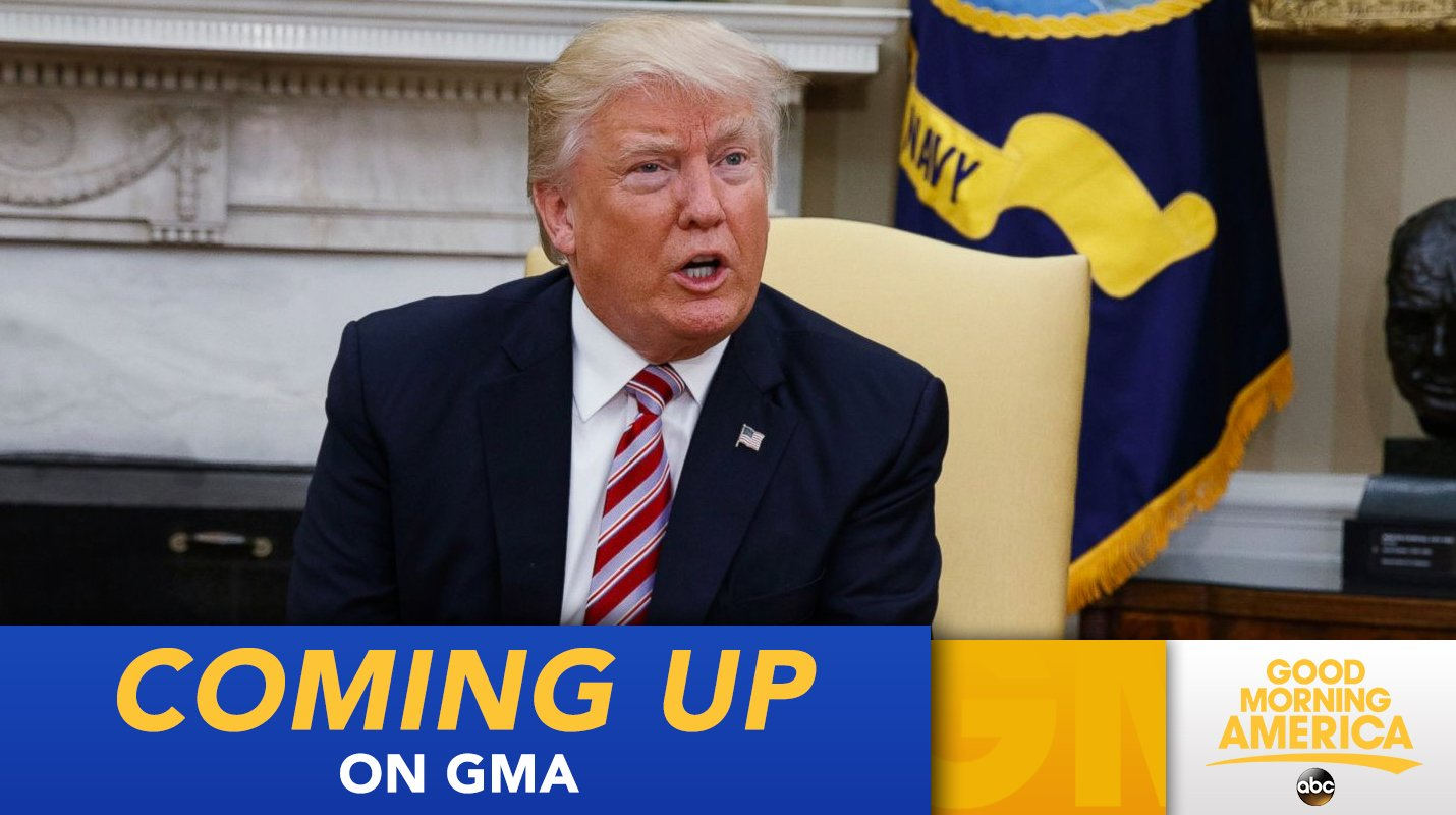 COMING UP ON @GMA: President Trump's reaction to special counsel measured, says White House https://t.co/Amtx6UMWlu