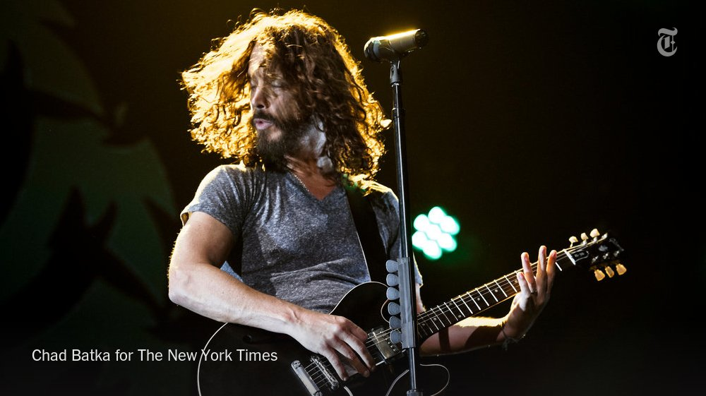 Chris Cornell, Soundgarden and Audioslave frontman, dies at 52 https://t.co/479EwQJqlh https://t.co/vJN6tKe2Lr