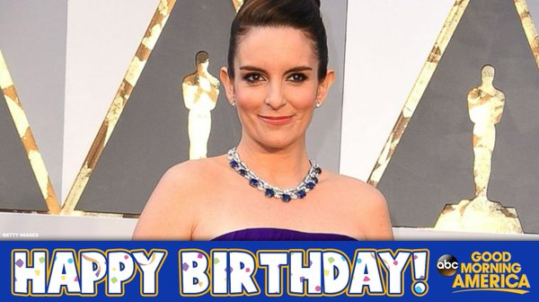 Happy Birthday to the hilarious Tina Fey! �� �� https://t.co/tGF6W31s1l