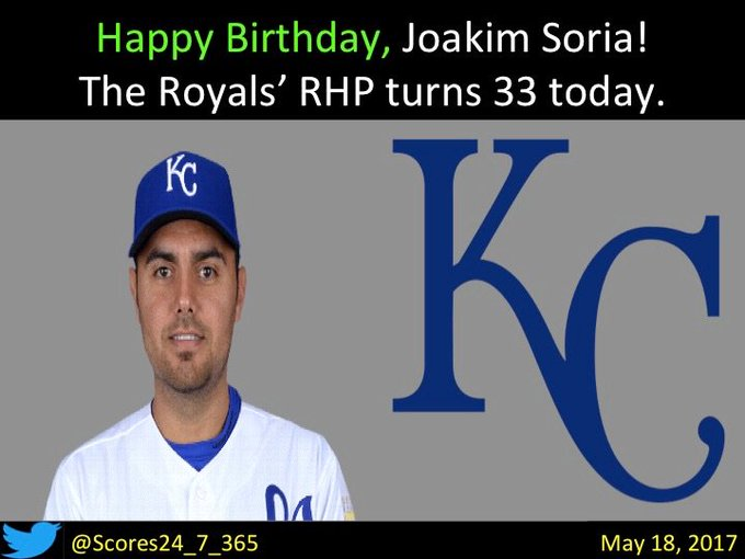 happy birthday Joakim Soria!